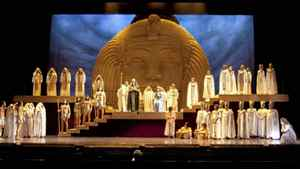 """A scene from """"Aida"""" at the Vancouver Opera"""