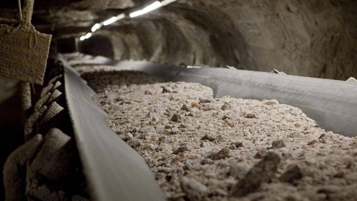 Potash waits 1,000 metres below the surface at a mine in Saskatchewan.