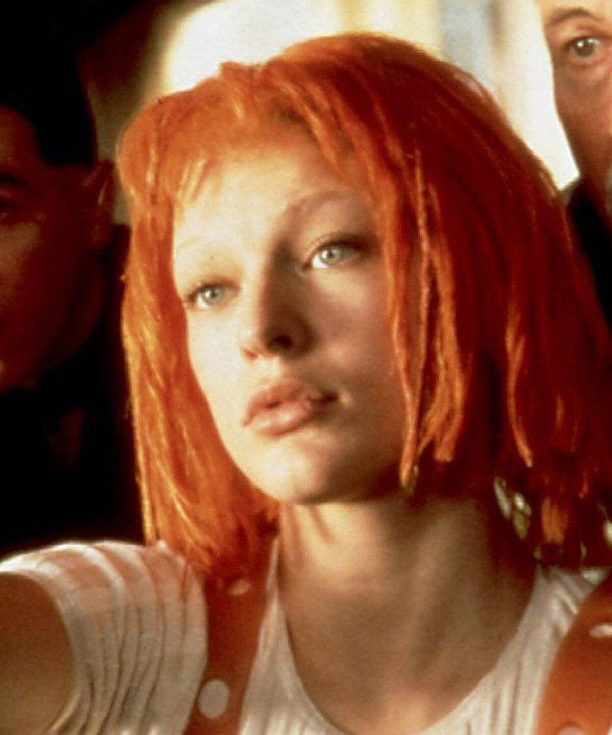 The Fifth Element's Leeloo: Tangerine dream