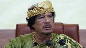 Moammar Gadhafi