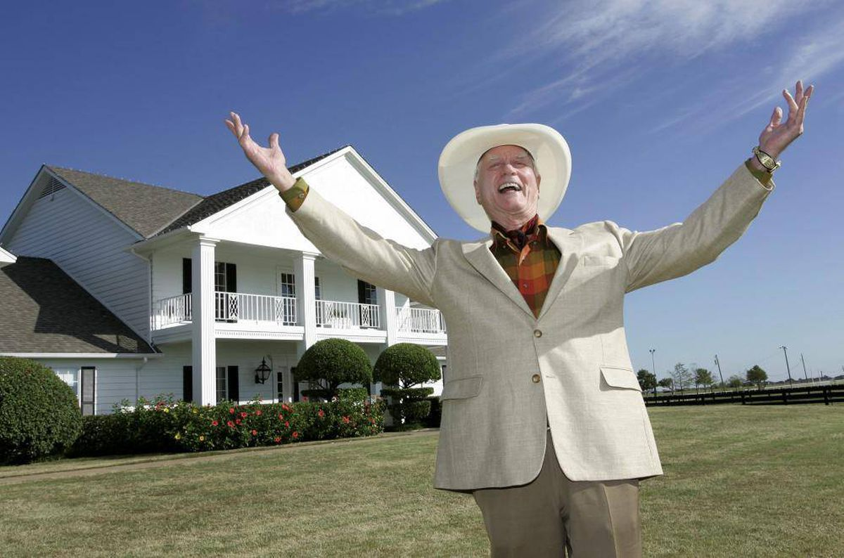 in photos the life of larry hagman best known as j r ewing from