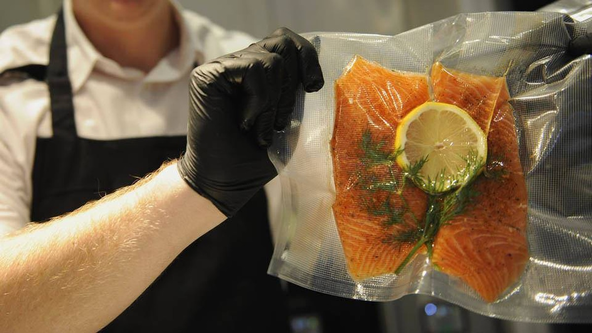 Sous vide salmon: The sous vide technique has been the secret of great chefs worldwide for decades and is finally available in an affordable home appliance.