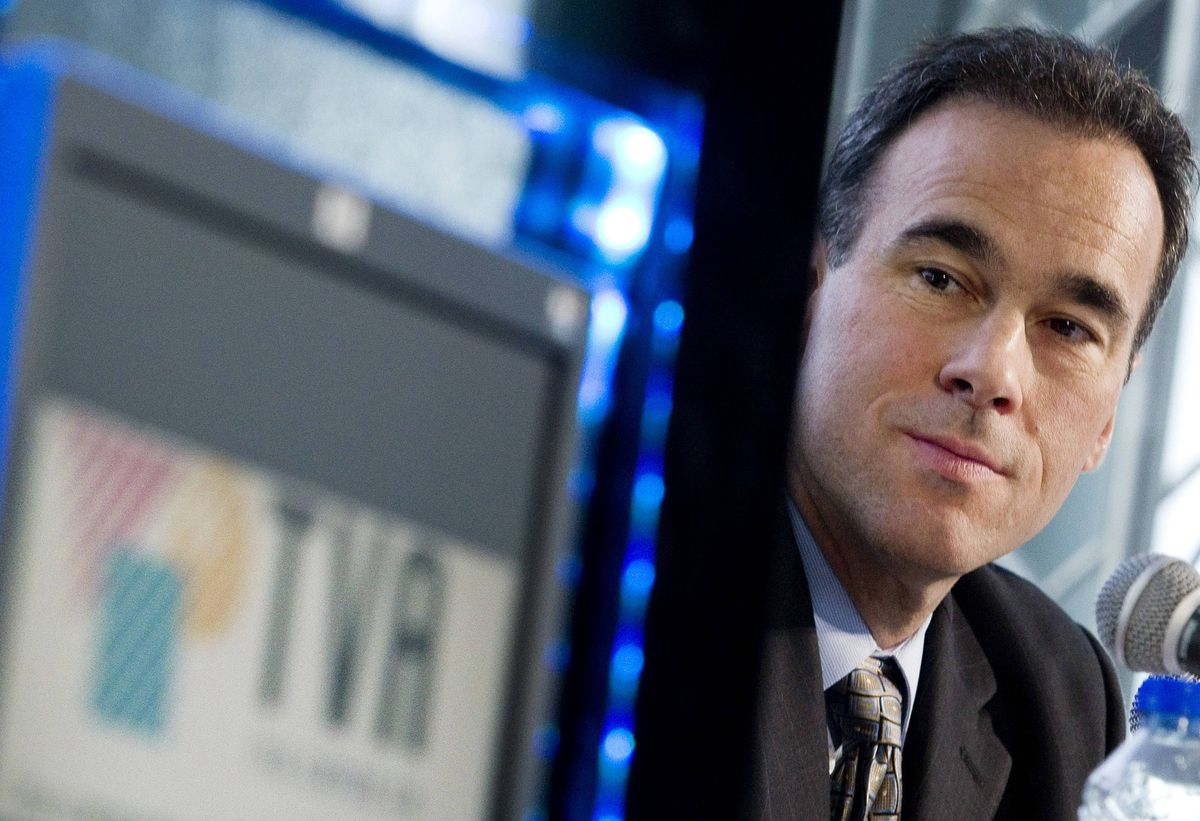 Pierre Dion, head of TVA Group Inc.