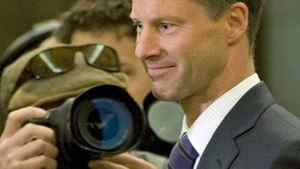 Nigel Wright, incoming chief of staff for Prime Minister Stephen Harper, arrives to testify before the Commons ethics committee on Nov.2, 2010.