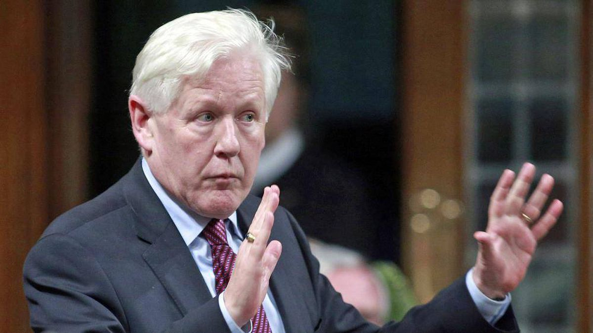 Interim Liberal Leader Bob Rae speaks during Question Period in the House of Commons on June 7, 2012.