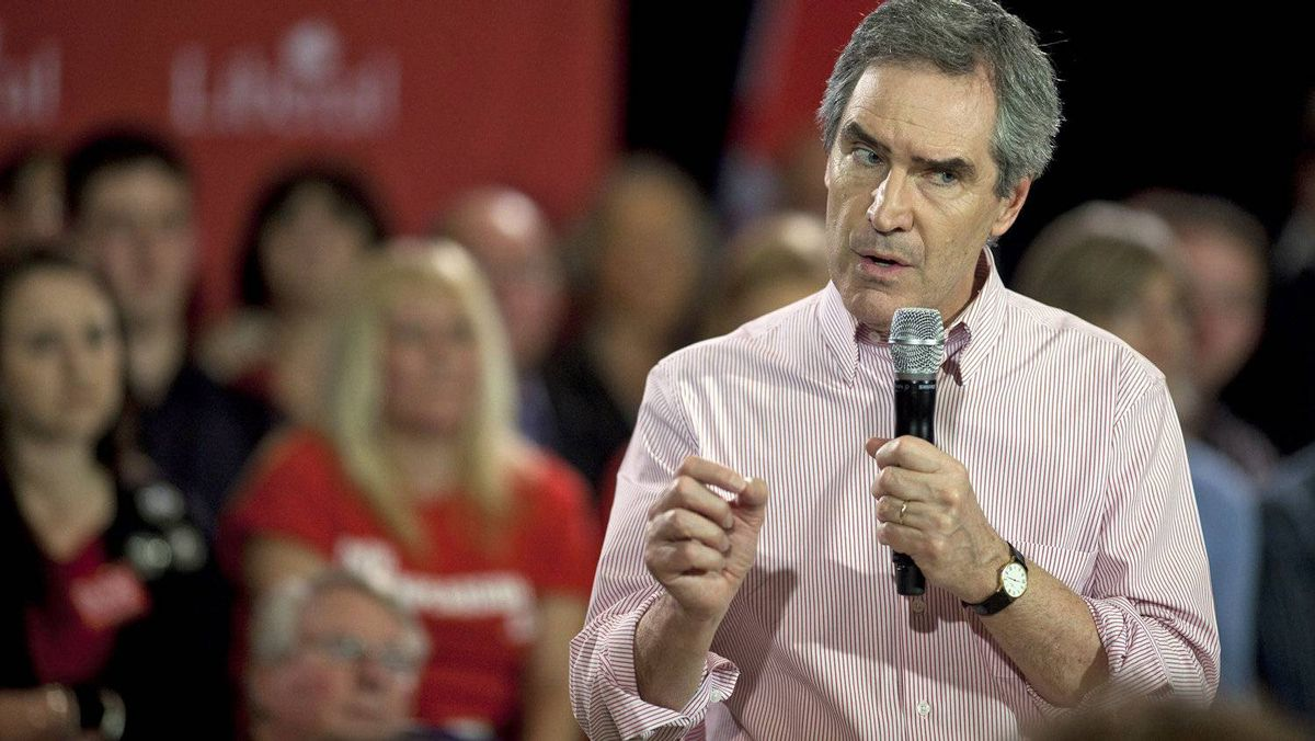 Liberal leader Michael Ignatieff speaks during a campaign stop in London, Ont., on March 31, 2011