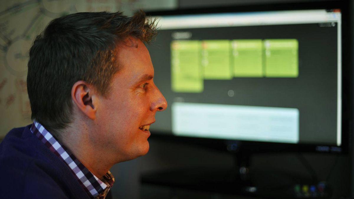 Ryan McDonald of Uncommon Innovation at work in Calgary.