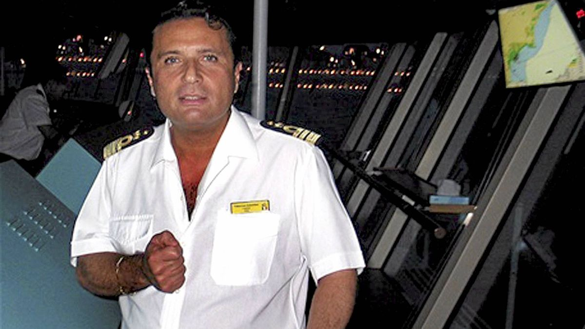 Captain Francesco Schettino is seen in this undated file photo released on Jan . 18, 2012.