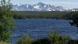 Fish Lake is 125 km southwest of Williams Lake in the traditional territories of the Xeni Gwet'in First Nation. The lake is at the centre of the controversial Prosperity Mine project proposed by Taseko Mines Ktd.