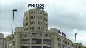 This undated file picture shows Dutch electronics giant Philips building in Eindhoven.