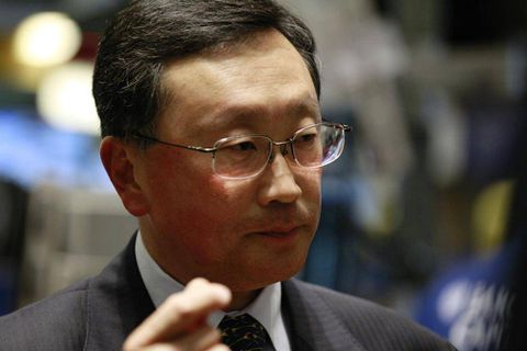 BlackBerry CEO outlines new strategy