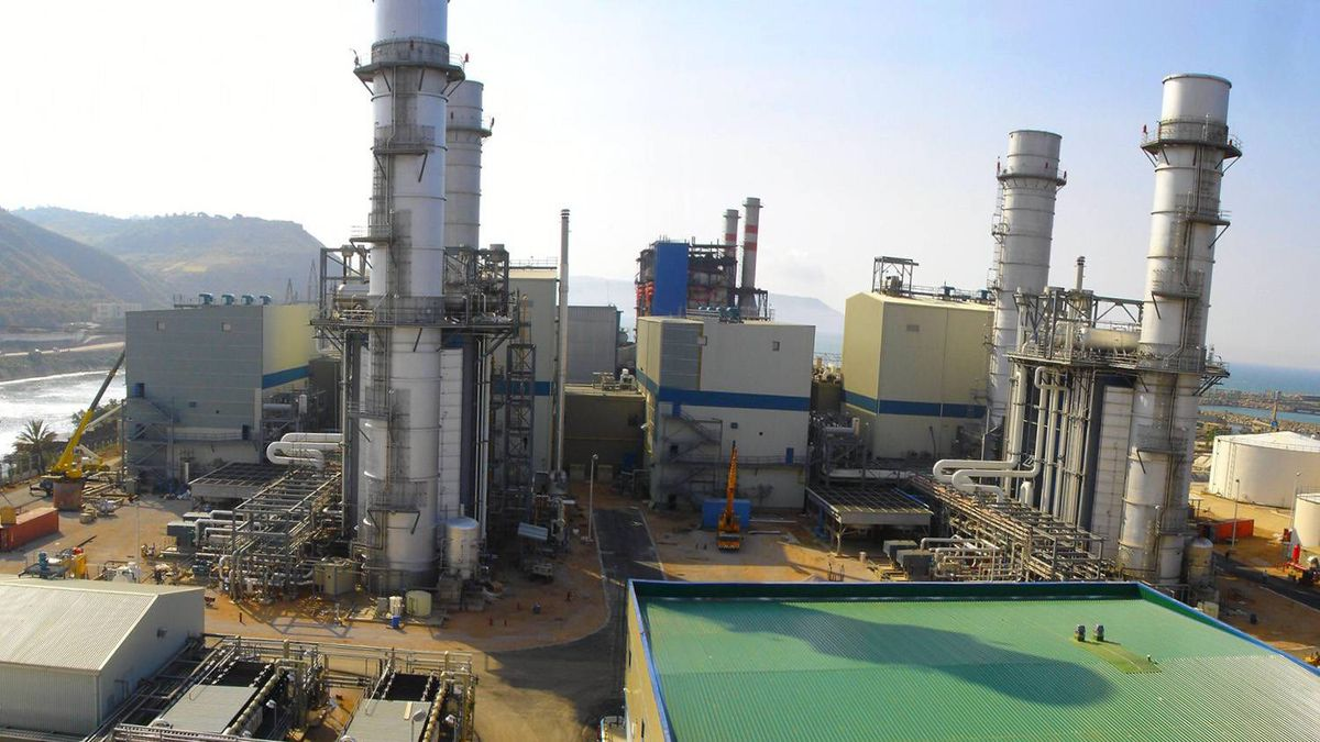 The Skikda thermal power plant, one of SNC-Lavalin's projects in Algeria