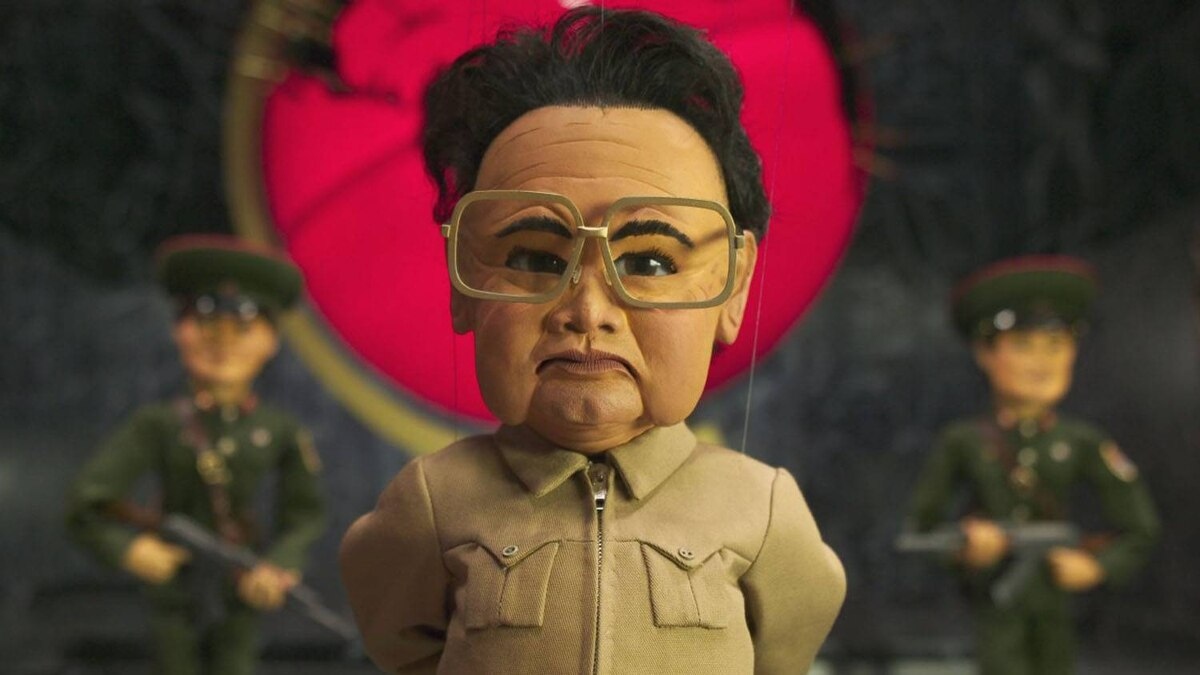 "Kim Jong-Il was characterized as an evil, maniacal dictator bent on world domination in the movie ""Team America: World Police"" by the creators of South Park."