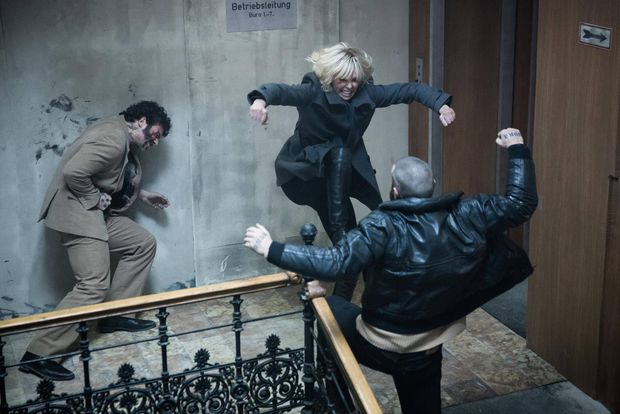 Atomic Blonde fights like a girl - and I love it