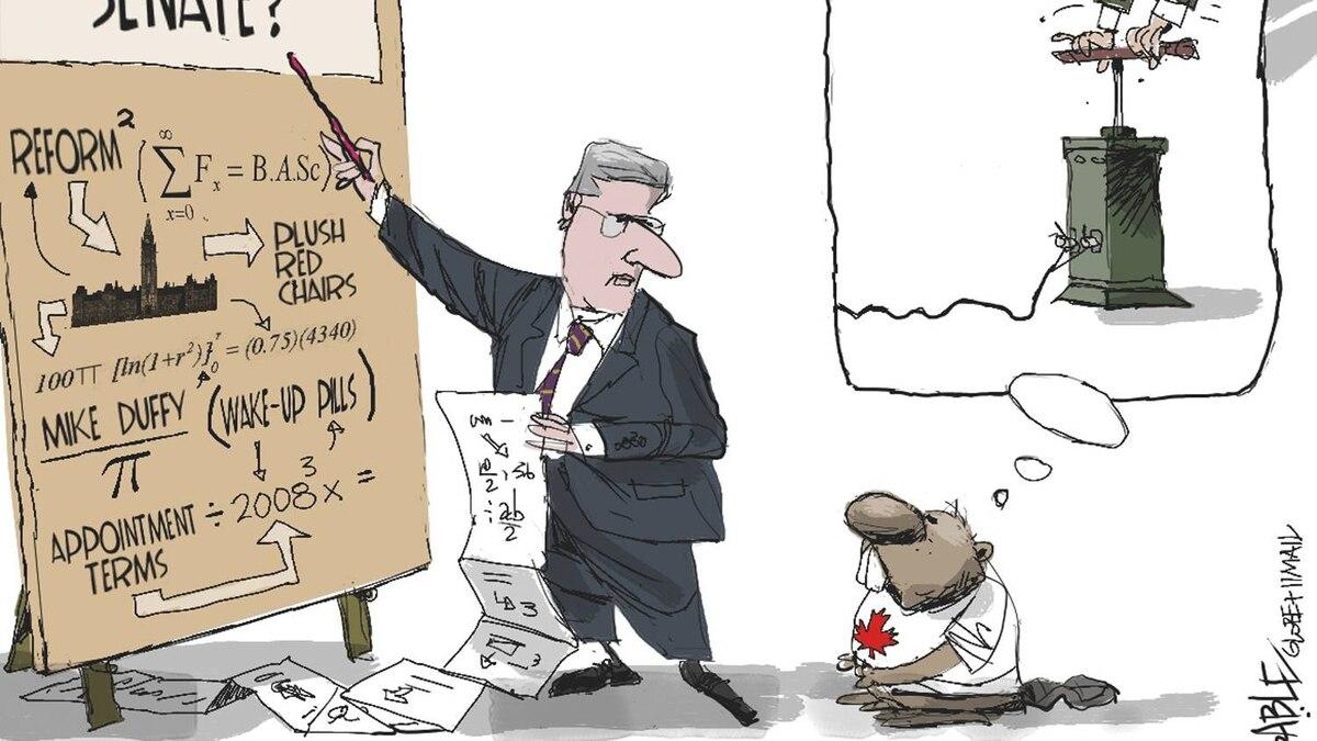 Editorial cartoon by Brian Gable
