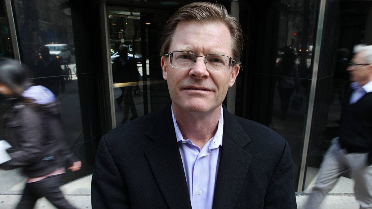 Level 5 founder and CEo David Kincaid outside his office in downtown Toronto