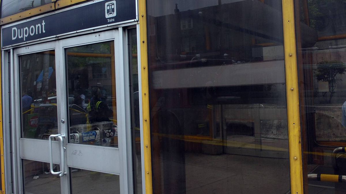 A Toronto Transit Commission fare collector has been shot in the neck during a robbery attempt at Dupont subway station.
