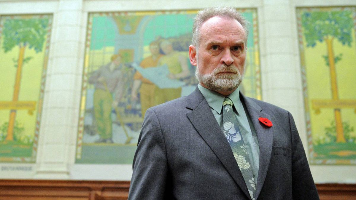 Auditor-General nominee Michael Ferguson arrives to testify before Commons public accounts committee on Oct. 31, 2011.