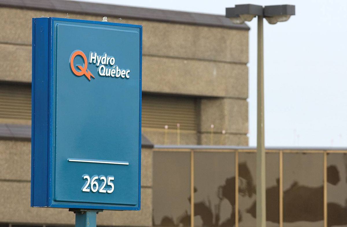 A Hydro Quebec office is shown Thursday Oct. 29, 2009.