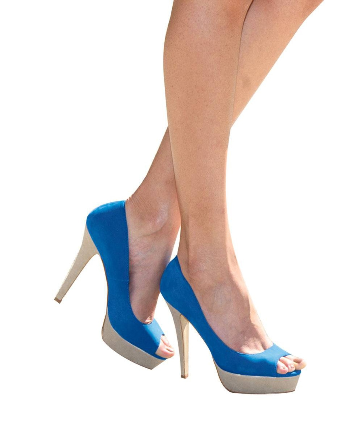 Whether cobalt or cornflower, blue pumps can be worn with anything. Aldo pumps, $70.