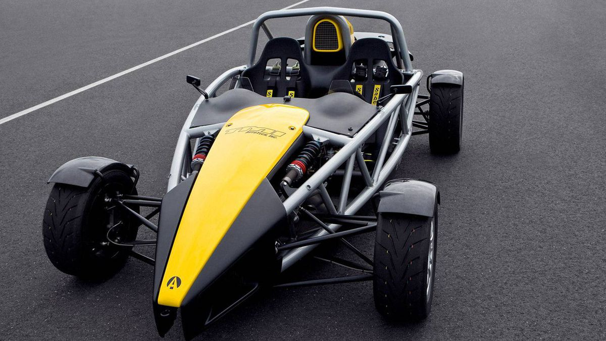 Ariel Atom: The Atom takes the convertible concept to the extreme by deleting the body panels. (A full-face helmet is mandatory.) Designed in England, the Atom is produced under license in the USA by TMI Autotech.