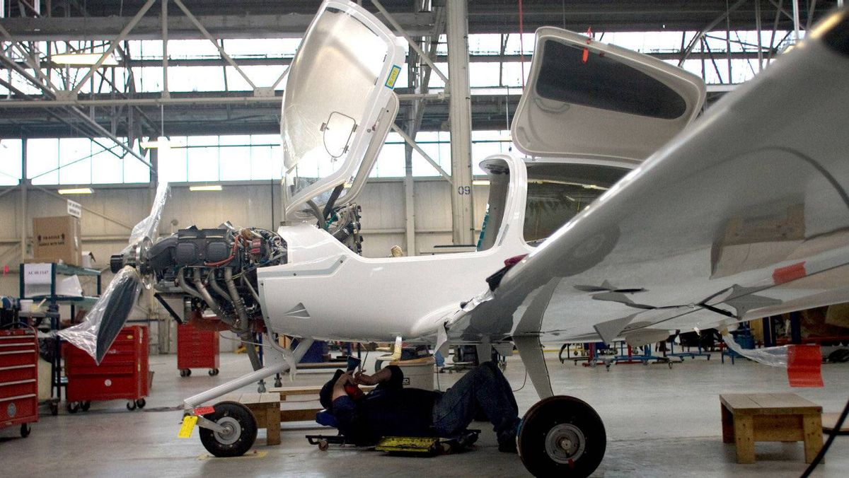 While a plane is being built it undergoes several inspections before it's ready for flight. Diamond Aircraft has sold planes in Canada, the United States, Australia, New Zealand, Singapore, India, China, Europe, South America, South Africa, Mexico and Turkey.