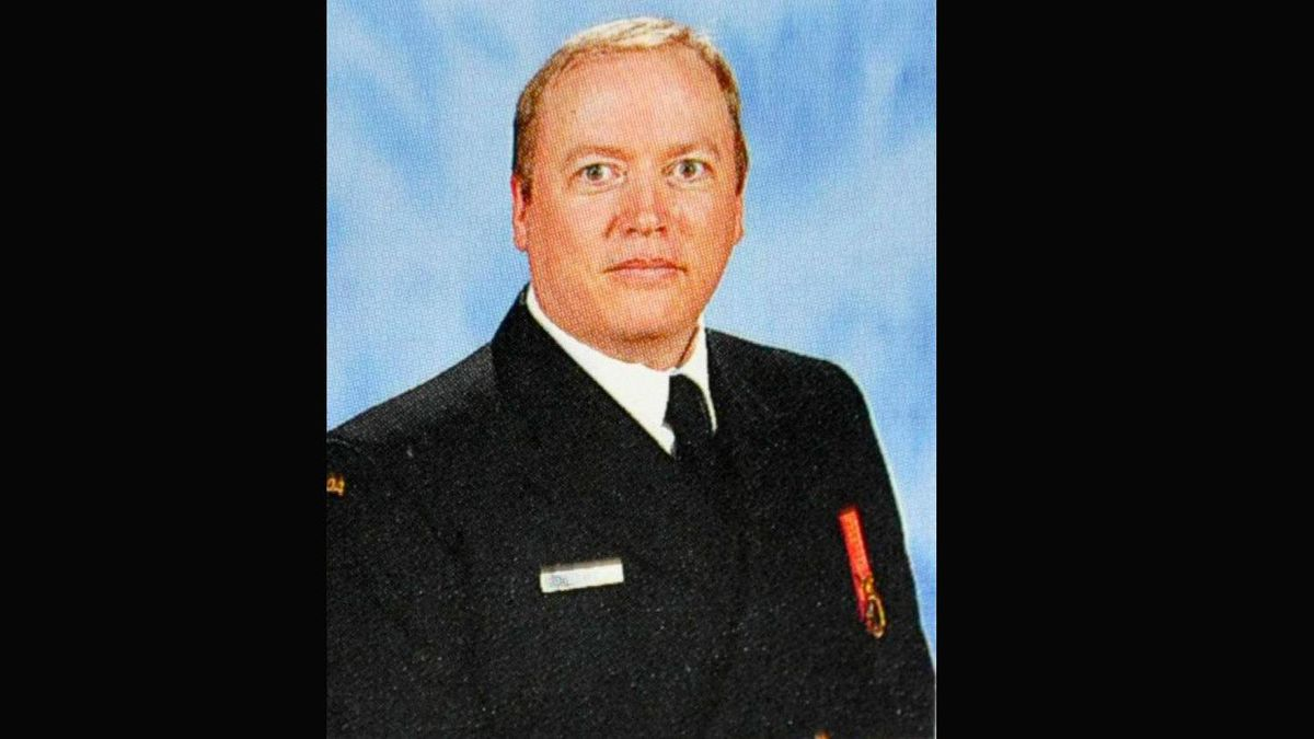 A photo of SLt. Jeffrey Delisle from the 2008-09 Royal Military College yearbook.