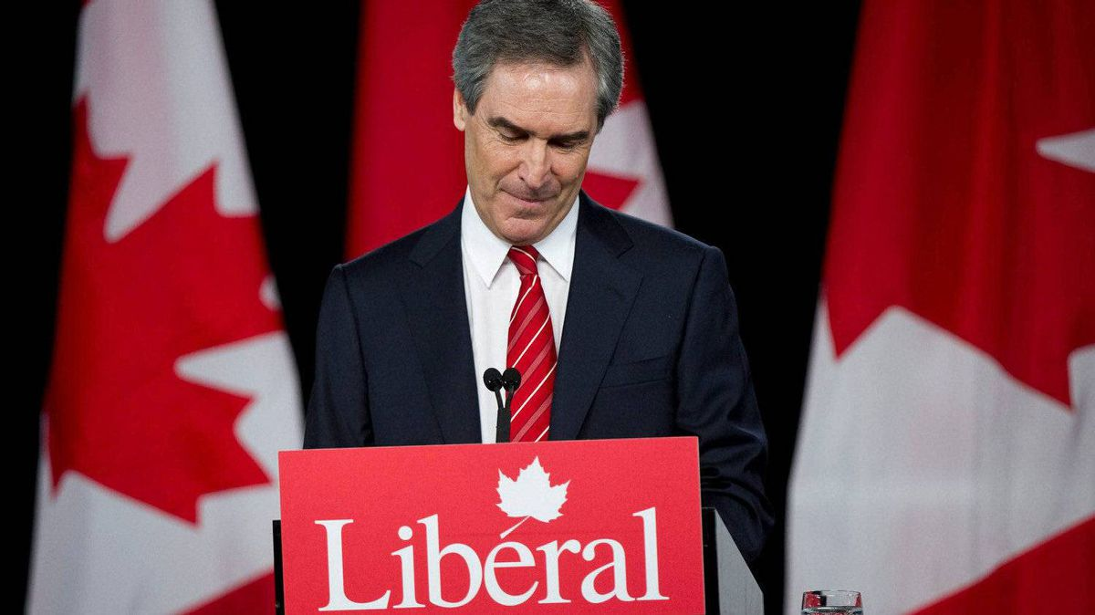 Liberal Leader Michael Ignatieff addresses supporters Monday, May 2, 2011 in Toronto.