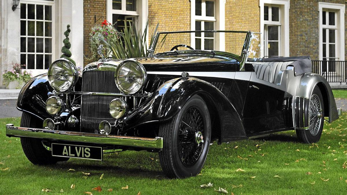 The 1936 Alvis 4.3 has been described as one of the greatest achievements of the pre-war British industry.