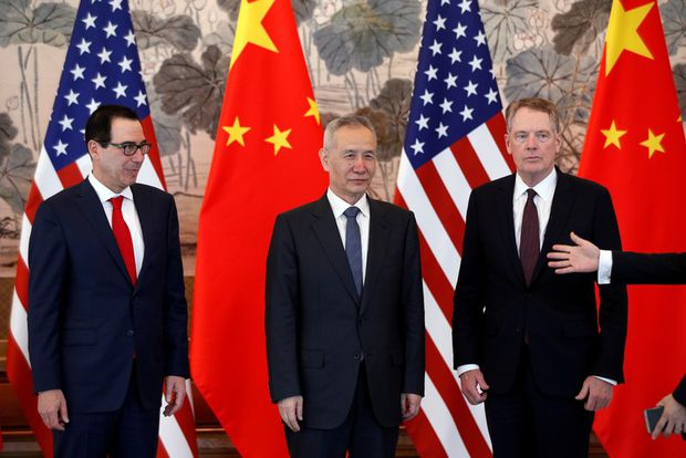 USA  to Raise Tariffs on Chinese Imports as Vice Premier Visits Washington