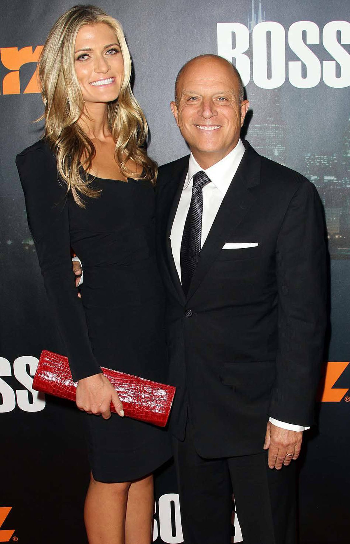 """""""Occupy this, losers,"""" Chris Albrecht, the diminuitive president/CEO of a major Hollywood production company, says while attending a premiere with his taller, younger, way better looking wife in Los Angeles last week."""