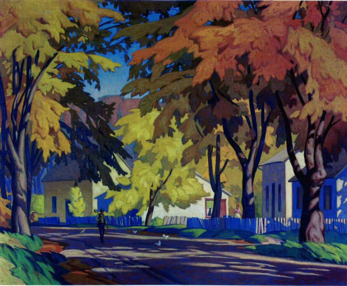 A.J. Casson's Street in Glen Williams