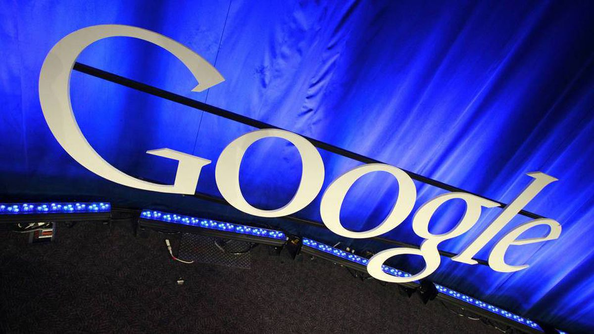 This photo taken Friday, April 9, 2010,, shows a Google sign at Google headquarters in Mountain View, Calif.