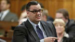 Heritage Minister James Moore speaks during a Question Period on Nov. 17, 2011.