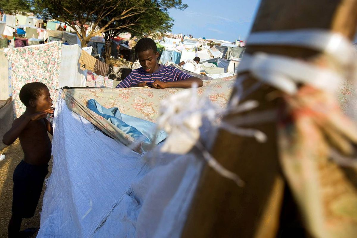 Thousands Still Displaced As Recovery Efforts Continue In Haiti