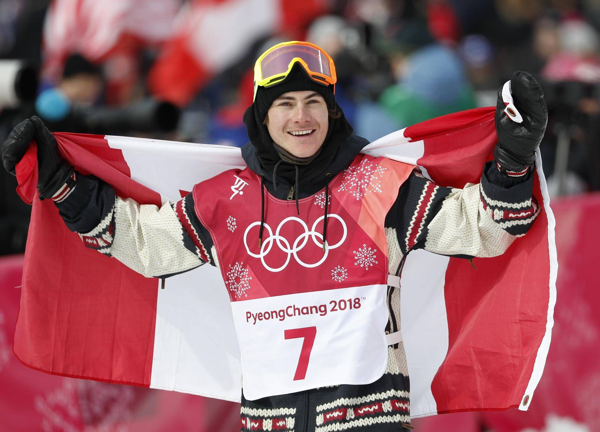 Canadian Snowboarder Sebastien Toutant Wins Gold In Mens Big Air The Globe And Mail