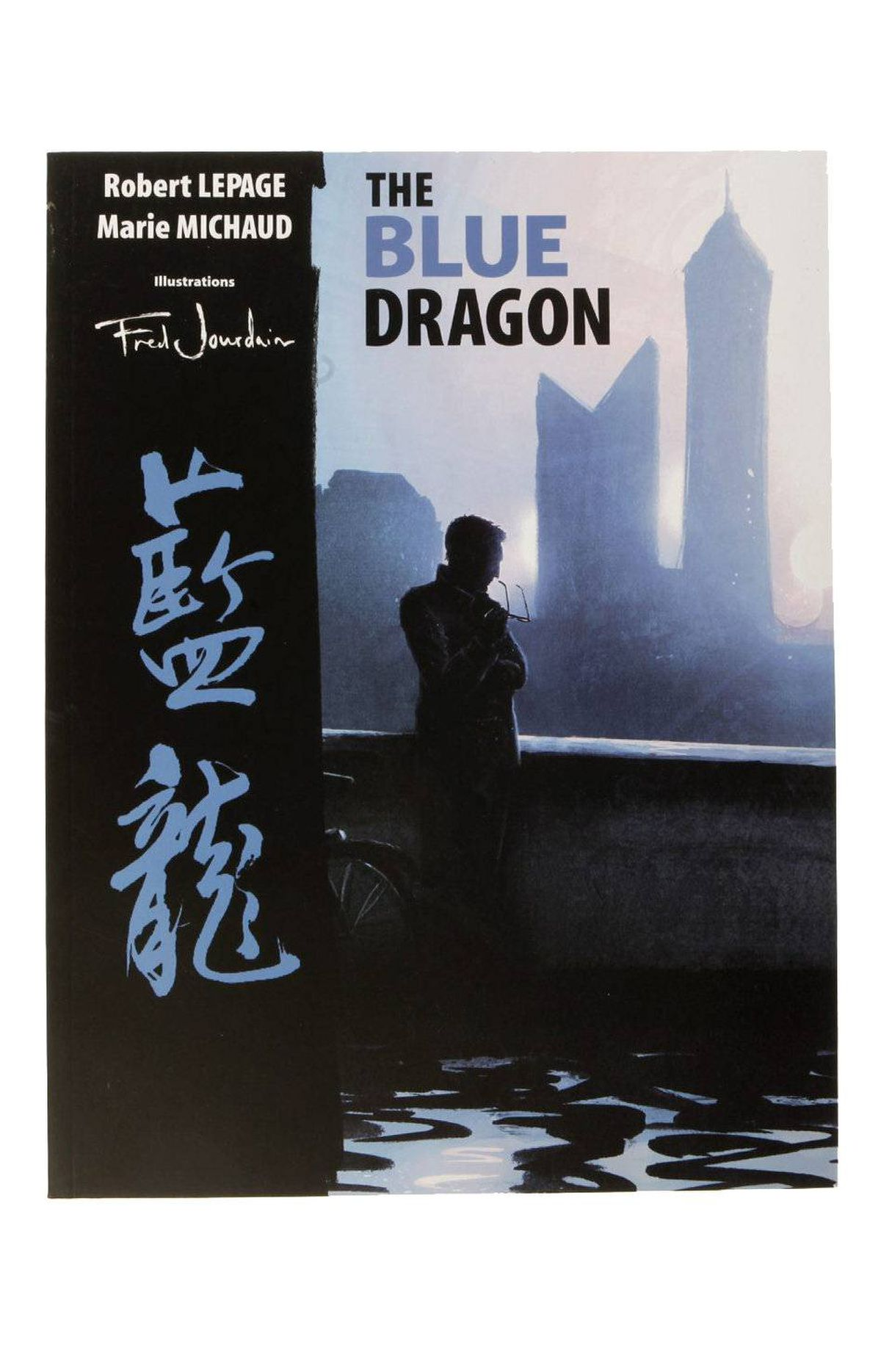The Blue Dragon I've never seen a more beautiful theatre book than this graphic novel based on the play by Robert Lepage and Marie Michaud. Fred Jourdain's drawings tell the story of expat art dealer Pierre Lamontagne and his ex-lover, Claire Forêt, who has come to visit China to adopt a baby. Every word of the script makes it in. $14.40 on amazon.ca