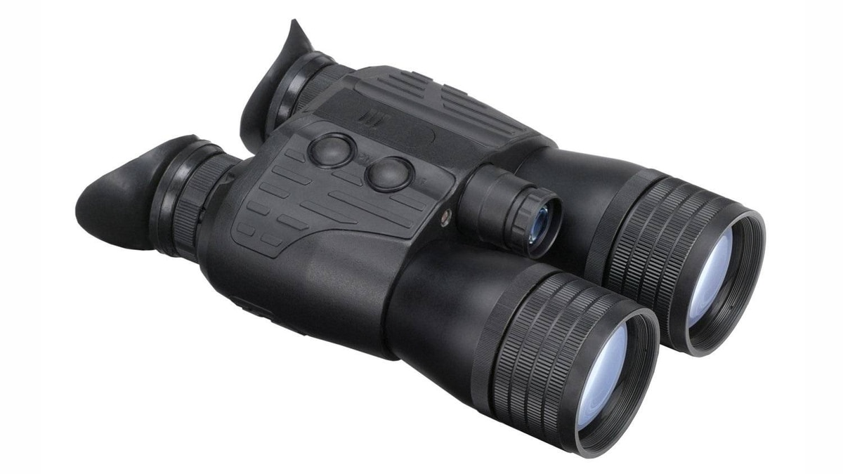Luna Optics LN-PB3 Great for nocturnal birdwatchers and night hunters alike, these high-power night vision binoculars cut through the inky dark up to a distance of 300 metres. Glass optics provide image clarity, and a sturdy, all-weather aluminum body endures the elements. It provides all the fun of military grade night vision minus the danger of a battle zone. ($599.99; www.opticsbrands.com)