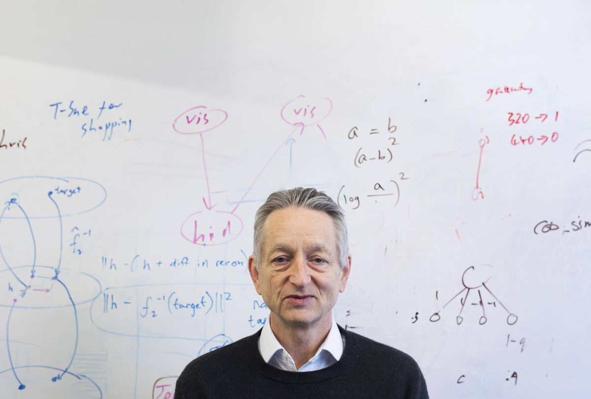 Geoffrey Hinton, The Globe and Mail