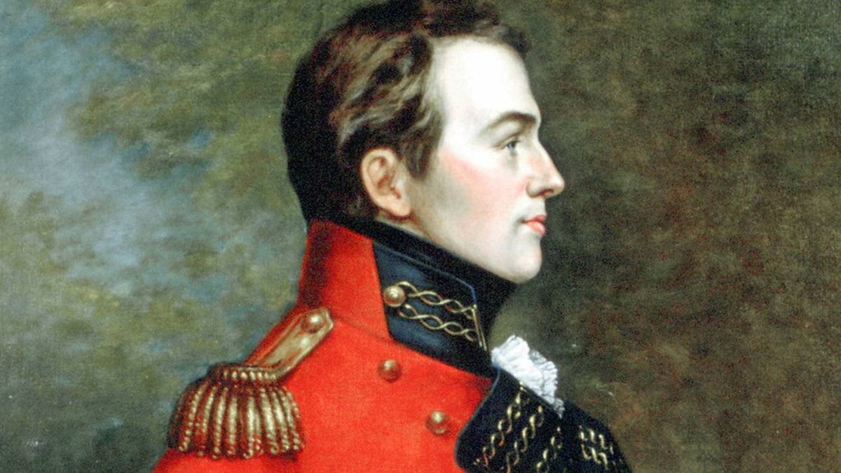 Major-General Isaac Brock commanded British forces in the War of 1812.