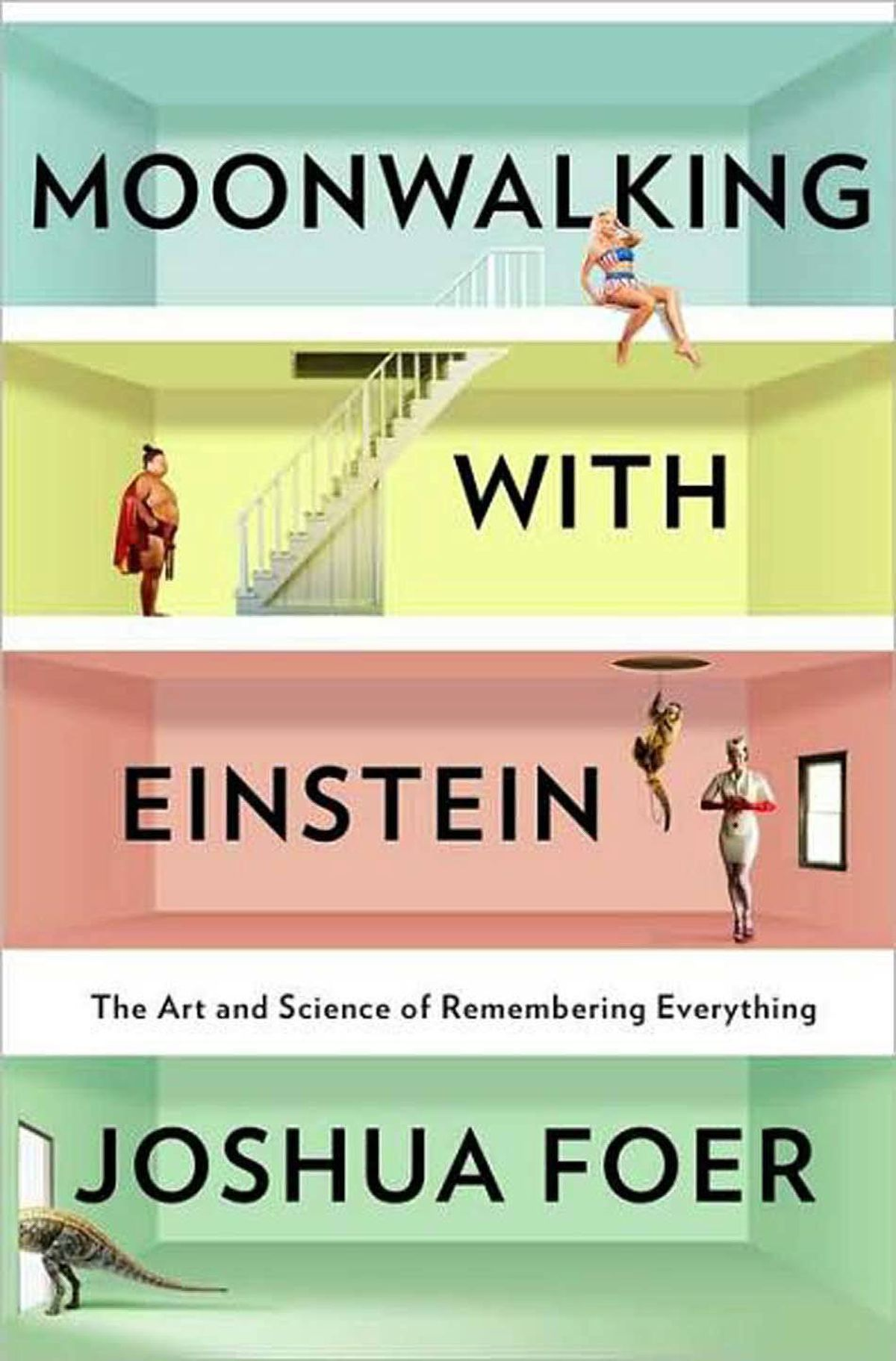 MOONWALKING WITH EINSTEIN The Art and Science of Remembering Everything By Joshua Foer (Penguin Press) This erudite and charming first book finds Foer, dissatisfied with his own forgetful memory, training for the 2006 U.S. Memory Championship. The story follows Foer as he ramps up his training, interspersed with a survey course on the history of memory, from the Greeks to MRIs, and his encounters with modern masters of memory. – Siobhan Roberts