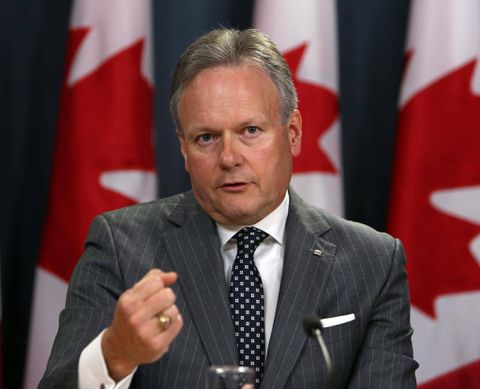 Loonie slides on Bank of Canada's move to slow rate hikes