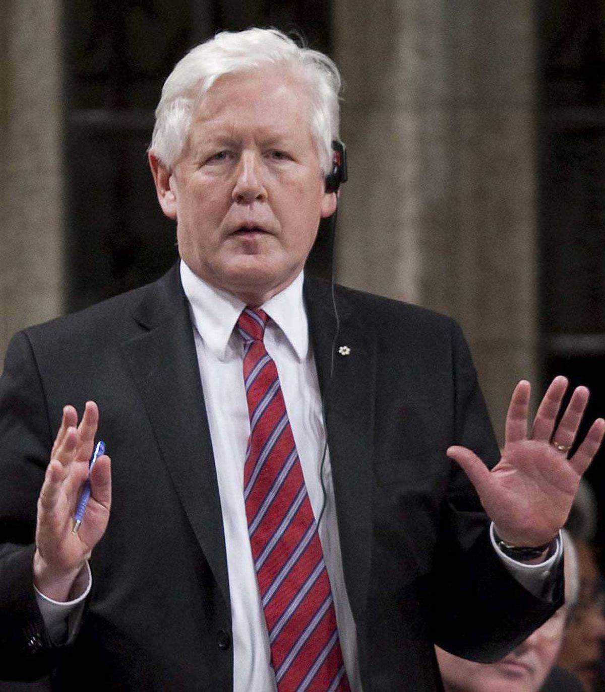 """Let me explain,"" says Interim Liberal Leader Bob Rae. ""Someone made automated phone calls to Liberal voters during the last election directing them to the wrong polling station or, worse, called late at night and identified themselves as Liberals and were rude."""
