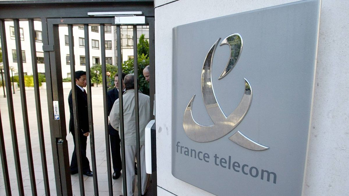 France Telecom headquarters in Paris