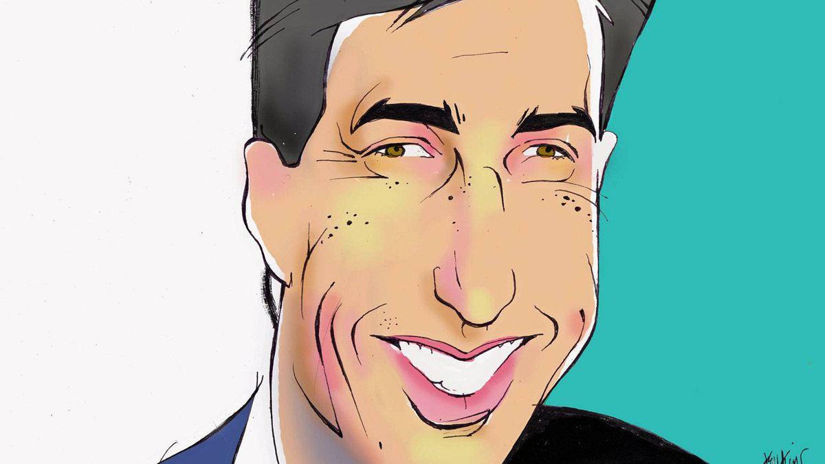 Illustration of Daniel Friedmann, chief executive officer of MacDonald Dettwiler and Associates Ltd.
