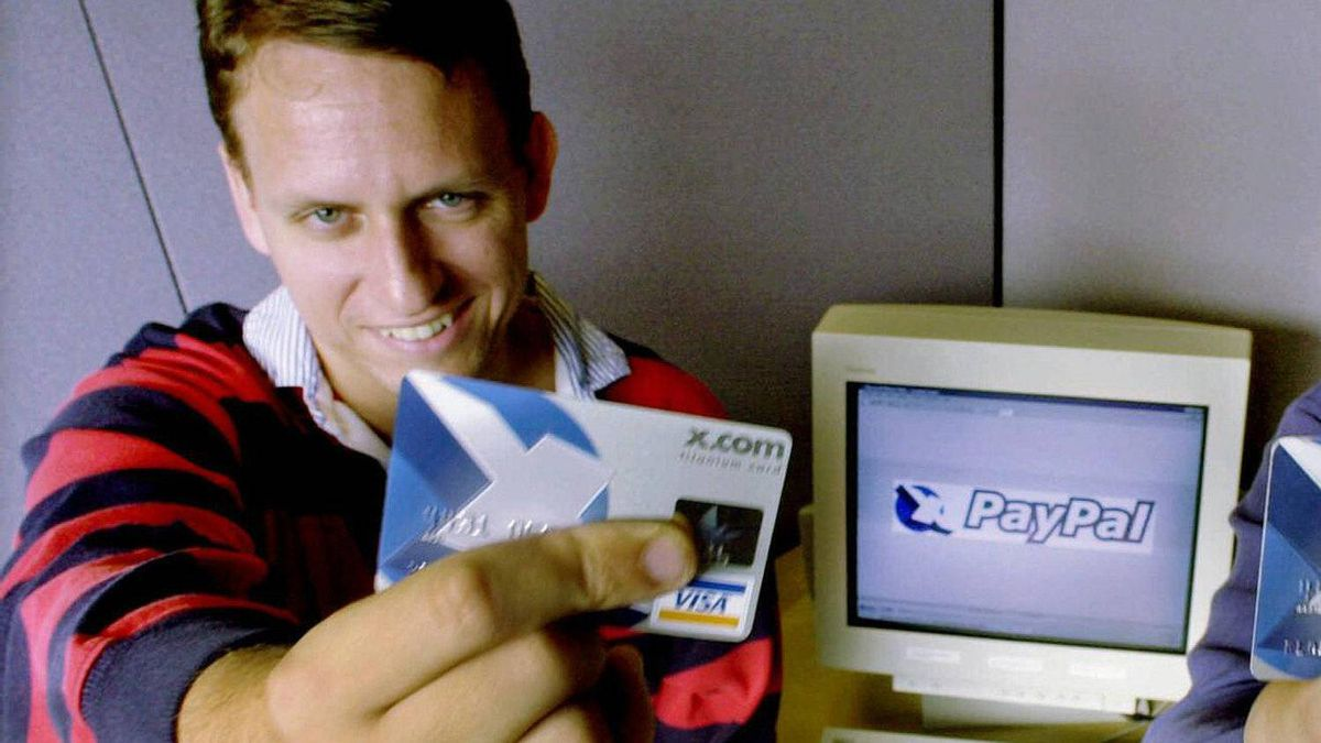 Peter Thiel, pictured here in Oct., 2000, is the managing partner at The Founders Fund and PayPal co-founder. Year invested in Facebook: 2004 Number of shares being offered: 7.7 million Value at $35 per share: $271-million