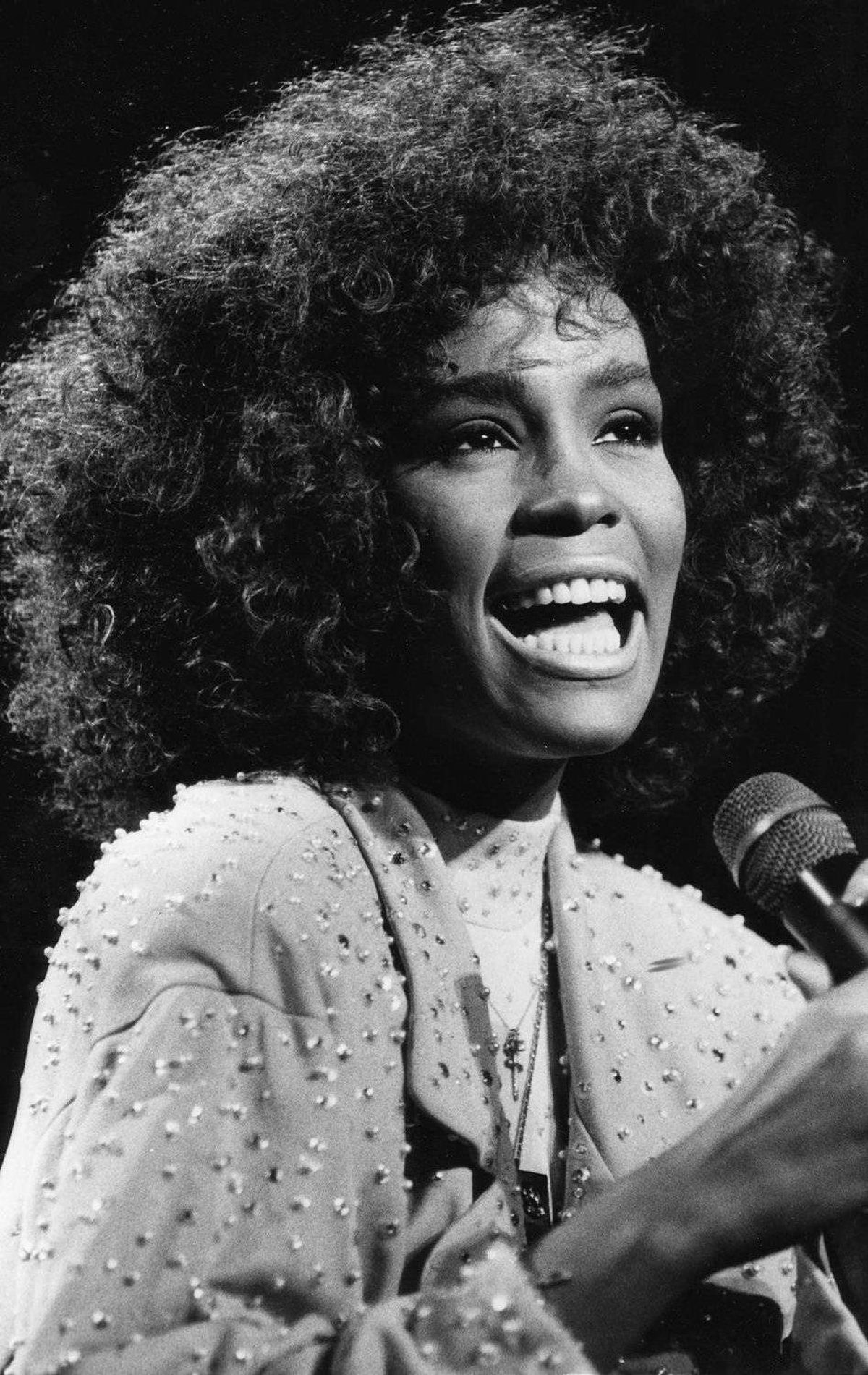 Pop star Whitney Houston was only 23 years old when she dazzled Toronto Aug 22, 1986. Nearly 25,000 fans gathered at Toronto's Canadian National Exhibition grounds to hear the star performer.