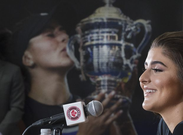 Canada's Bianca Andreescu catapults to No