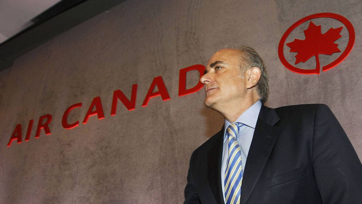 Air Canada CEO Calin Rovinescu at the May, 2011 annual meeting.