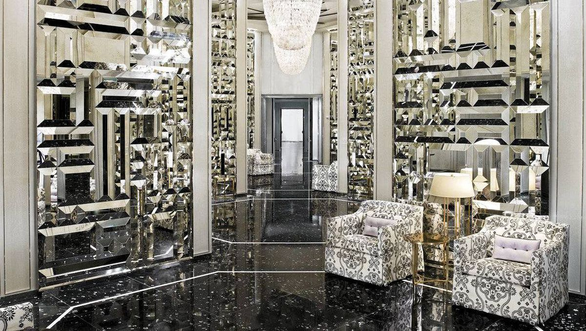 The entrance to the St Regis Bal Harbour resort in Miami.